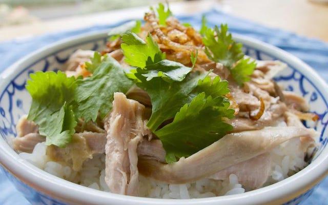 Pyskaty smak tajwańskiego ryżu z indyka