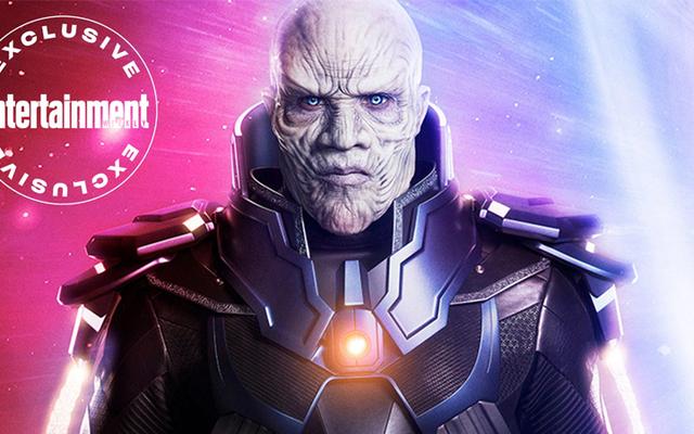 Aquí está su primer vistazo a Crisis on Infinite Earth's Big Bad, el Anti-Monitor