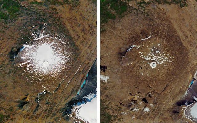 地球温暖化で敗北した最初の氷河、オクヨクルが姿を消す