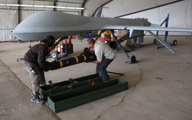 米国には、衝突の数秒前にブレードを配備する新しいミサイルがあります