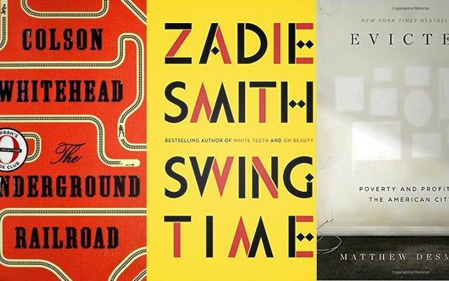 """I 20 migliori libri del 2016, secondo 36 elenchi """"Best of"""""""