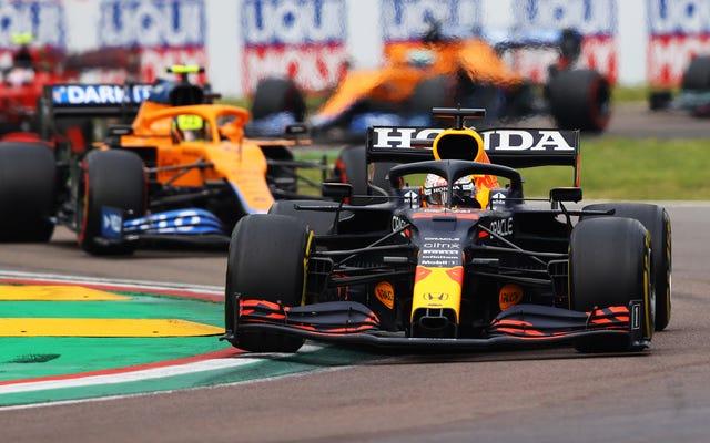 マックス・フェルスタッペンがレッドブル・レーシングのイモラでのパフォーマンスの約束を成功させる