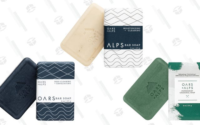 No serás azul con $ 10 Oars + Alps Soap