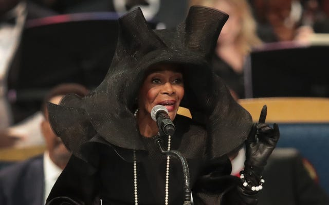 Capturez la couronne: qui a conçu le célèbre chapeau de Cicely Tyson pour les funérailles d'Aretha Franklin?