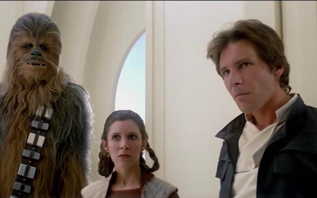 Oui, Han et Leia étaient définitivement ivres ou défoncés lorsqu'ils sont arrivés sur Cloud City
