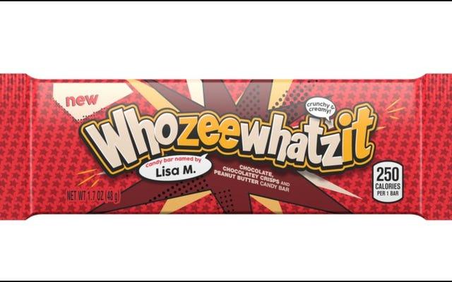ハーシーはWhatchamacallitを改善し、Whozeewhatzitを紹介します