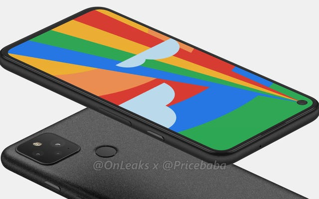 नया लीक हुआ Pixel 5 रेंडर एक अपग्रेडेड लेकिन स्टिल विनम्र मिडरेंज फोन है