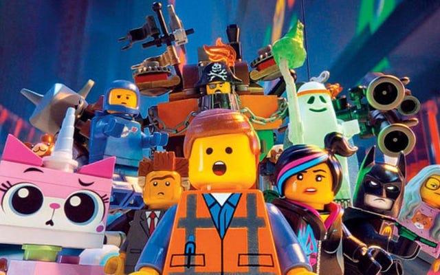 レゴムービーは2014年の白人のお気に入りの映画でした、統計ショー