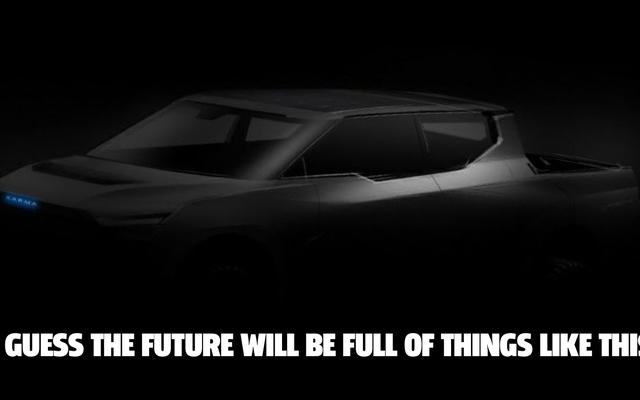 Karma vuole entrare nel gioco del camioncino EV dall'aspetto fantascientifico