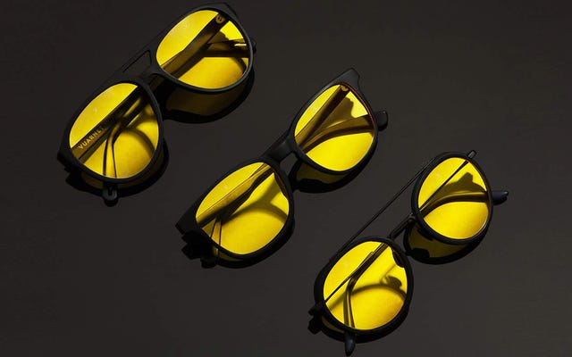 Vous porterez ces lunettes de soleil la nuit