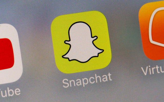 Snapchatが再びニュースに戻ってきました