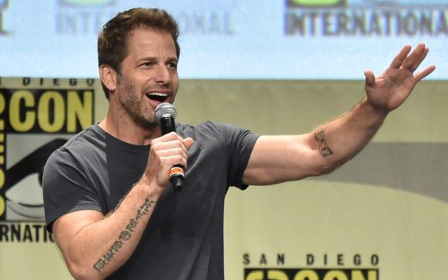 ザック・スナイダーはあなたに「性交を起こして」バットマンが人々を殺すことを受け入れることを望んでいます