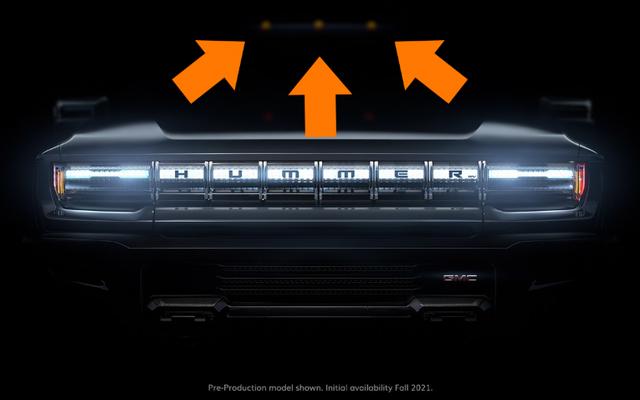 これらのライトは、電気ハマーがおそらく適切に巨大になることを示しています