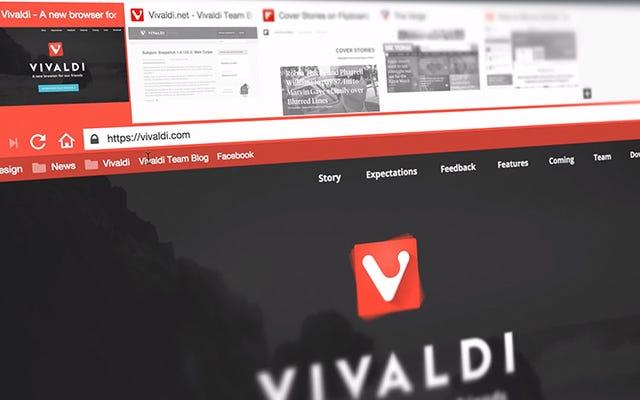 5 причин использовать Vivaldi вместо Chrome или Firefox