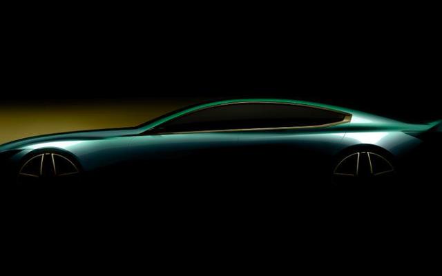 BMWは4ドア8シリーズであるかもしれないものをからかう