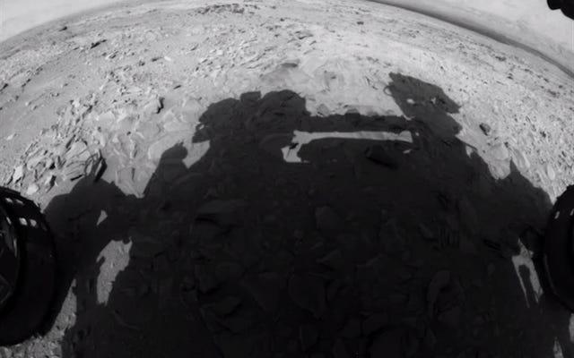 पांच साल के क्यूरियोसिटी रोवर ने शानदार पांच मिनट के समय में मंगल की खोज की