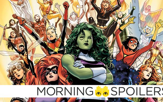 एबीसी महिला सुपरहीरो के आधार पर एक नए मार्वल शो की योजना बना रही है