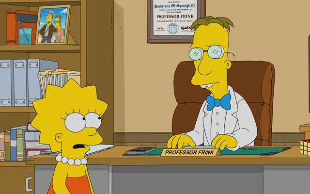 Frink coin là một loại tiền điện tử, nhưng Simpsons chân thành lại đúc kết một câu chuyện thỏa mãn bất ngờ
