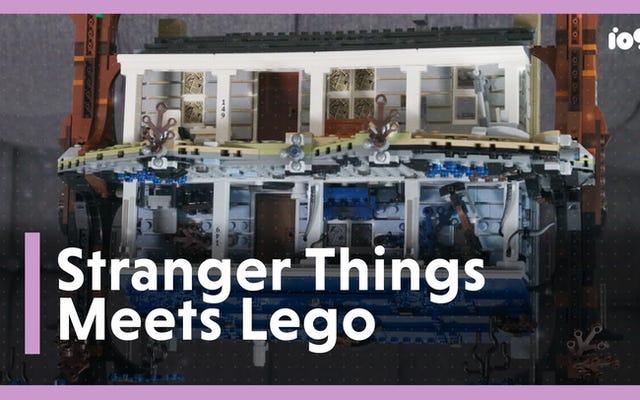 Kami Membangun Set Lego Stranger Things 2.300 Bagian dan Sekarang Kami Terbalik