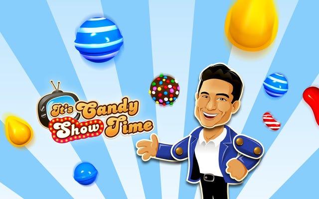 รายการทีวี Candy Crush นำไปสู่ Mario Lopez ในเกม