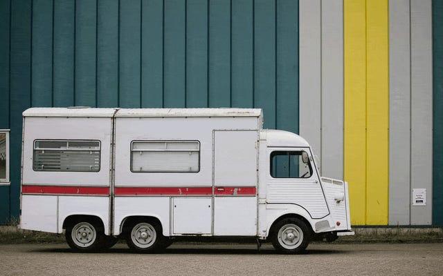 Questo Citroën HY-Van pieghevole è una soluzione a un problema che farai finta di avere solo per possederlo