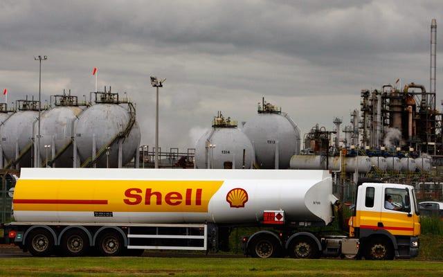 Shell afferma di aver raggiunto il picco di produzione di petrolio
