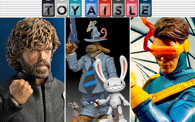 Desain Terbaik Cyclops Mendapat Sosok Hebat, dan Lebih Banyak Mainan Terbaik Minggu Ini