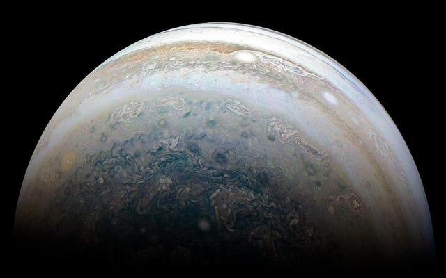 私たちの苦しめられた魂を落ち着かせる木星の南半球の新しい写真