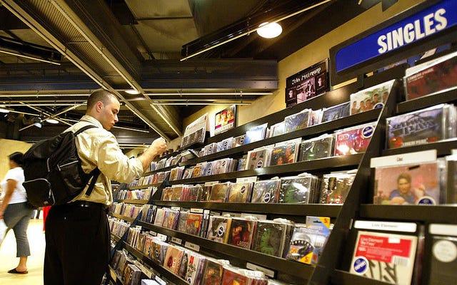 30年間のデータは、ナップスターが登場したときに音楽業界がピークに達したことを示しています