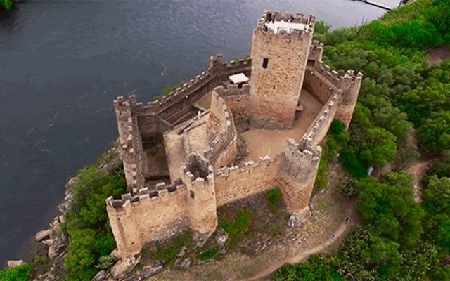 Tonton Cuplikan Drone Magis dari Kastil di Seluruh Eropa
