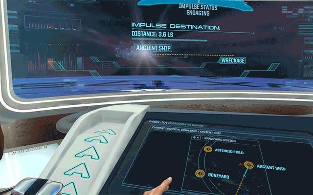 新しいスタートレックVRゲームは本当にあなた自身の宇宙艦隊の船に人を配置するようなものです