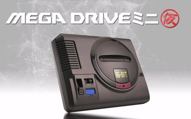 Sega annonce un Mega Drive Mini