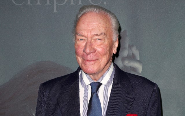 RIP prolífico actor Christopher Plummer