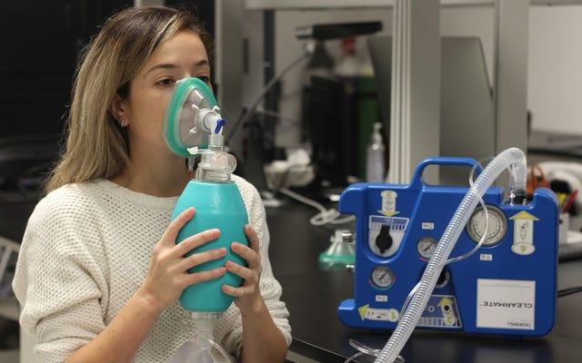 สิ่งประดิษฐ์ง่ายๆช่วยให้คุณมีสติด้วยการหายใจออกแอลกอฮอล์