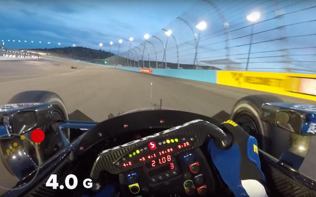 これらは、IndyCarドライバーが楕円形のトラックで経験する非常識なGフォースです