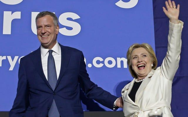 ヒラリークリントン市長のためのニューヨークタイムズのボナーは4時間以上続いた