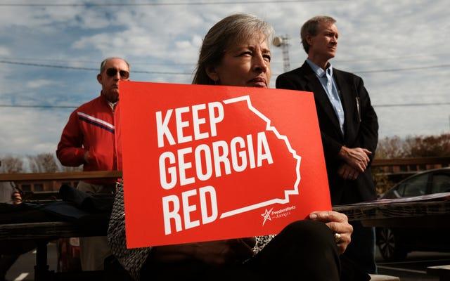 La Géorgie fait ce que fait la Géorgie, présente une législation pour réprimer le vote noir