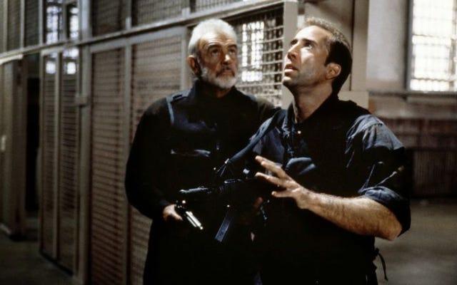 Cage e Connery irrompono in The Rock, l'unico bel film che Michael Bay ci abbia mai regalato