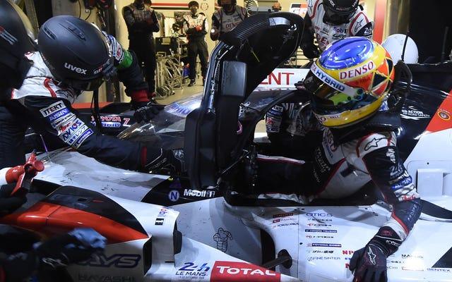 24 Horas de Le Mans 2020, 12 horas en: el No. 7 Toyota Gazoo Racing mantiene el liderato