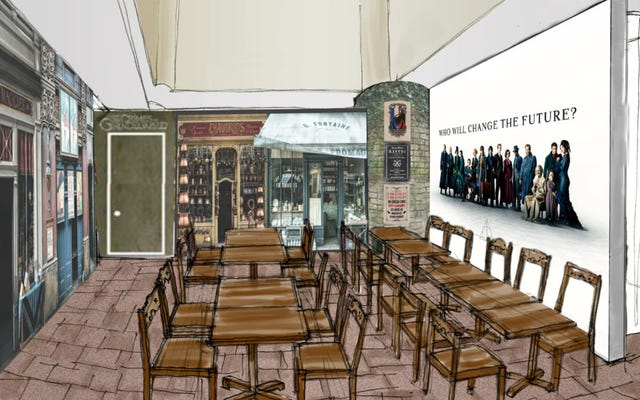 Les premiers cafés officiels Harry Potter à venir au Japon