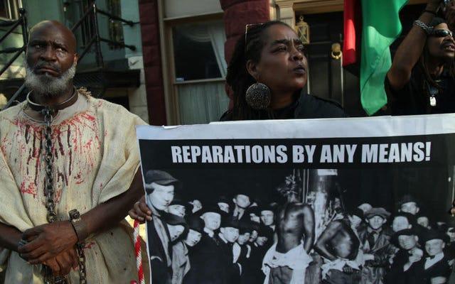アメリカの奴隷の黒人の子孫だけが賠償に値するのか?