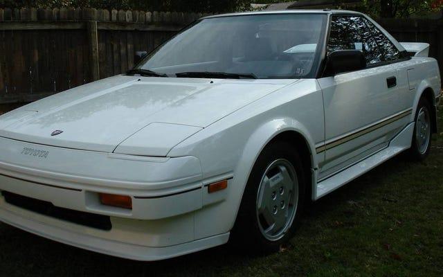 この$ 30,000トヨタMR2を購入しないでください