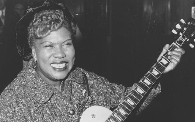 Rock and Roll Hall of Fame ได้รับการยกย่องในที่สุดผู้หญิงที่ประดิษฐ์เพลงร็อกแอนด์โรล