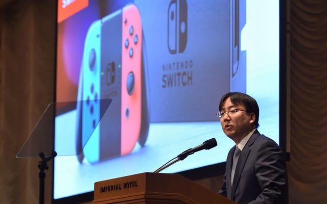 Nintendo parle de la durée de vie du commutateur
