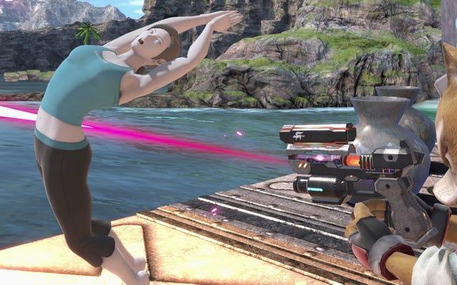 Super Smash Bros. посвящает полное обновление тренеру Nerfing для Wii Fit