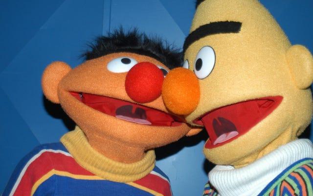 Bert et Ernie sont gay, confirme Sesame Workshop (mais seulement si vous voulez qu'ils le soient)