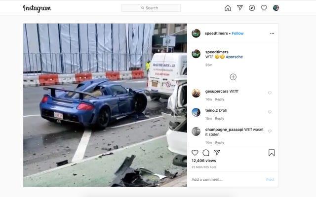 Guy Mengambil Kesempatan Pandemi Untuk Merobek Jalan-Jalan NYC Di Gemballa, Segera Terjadi Tabrakan