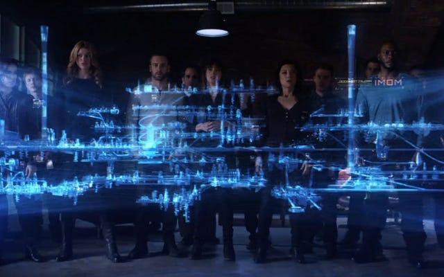 Inhumans Showが来るか、KevinFeigeがSHIELDのエージェントを見ていません
