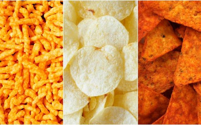 Jak oceniasz przekąski Frito-Lay Variety Mix?