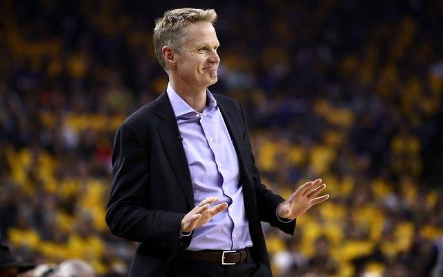 """สตีฟเคอร์คิดว่าความไม่พอใจของสื่อรัสเซลเวสต์บรูกคือ """"อันตราย"""" สำหรับ NBA"""